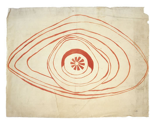 Louise Bourgeois Untitled Drawing