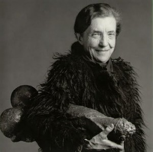 Robert Mapplethorpe photographic portrait of Louise Bourgeois