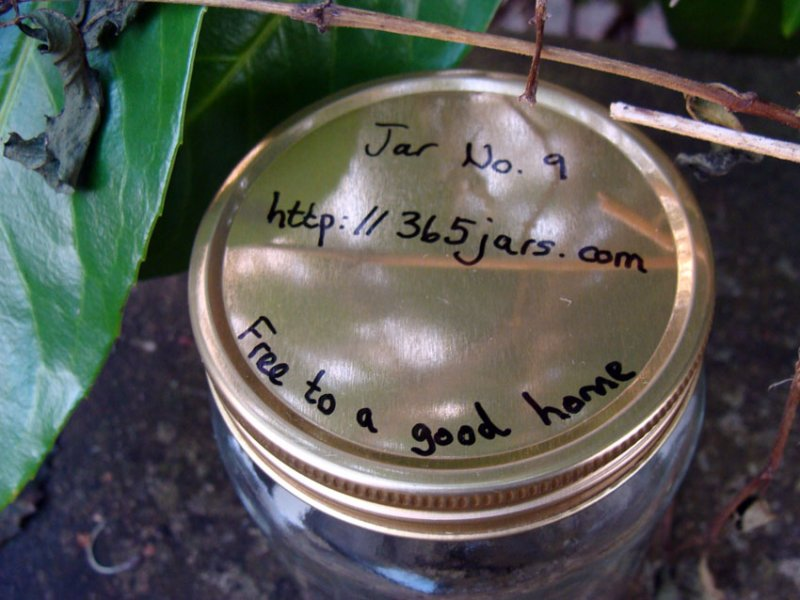 Jar No 9 - lid